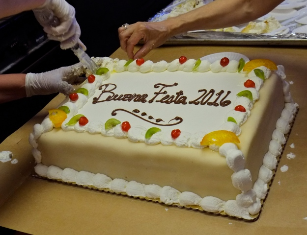 Saint Peter Novena Cafe Sicilia cake copyright Kim Smith 2016