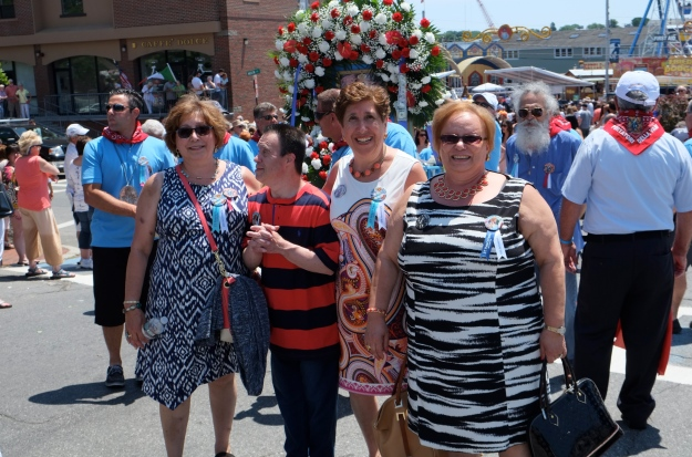 SAINT PETER'S FIESTA 2016 PROCESSION Angela San filippo  copyright Kim Smith
