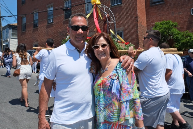 SAINT PETER'S FIESTA 2016 PROCESSION Nick Sardo Fay Puopolo copyright Kim Smith