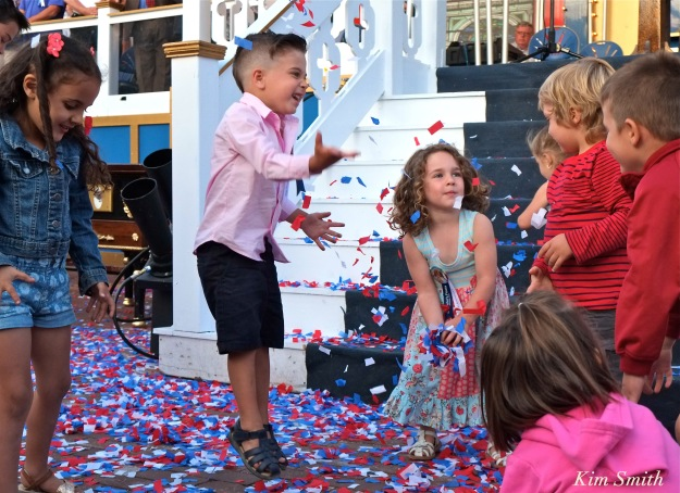 Dante Saint Peter's Fiesta opening ceremony 2016 copyright kim Smith